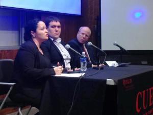 Aixa Acevedo, NJ Outreach Manager SBM, at Rutgers/Newark event