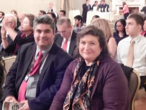 Marcela Zuchovicki and Luis De la Hoz, Statewide Hispanic Chamber of Commerce of New Jersey