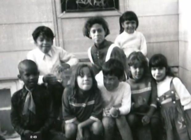 Debra Perez as a child in Trenton NJ