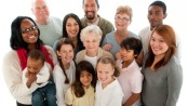 Multiracial ethnic group of people
