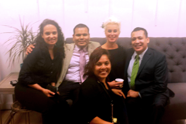 (L to R) Zoraida Lorenzo, Danny Sanchez, Lori Cheek, Ali Curi and our LIBizus coach Jennifer Castaneda