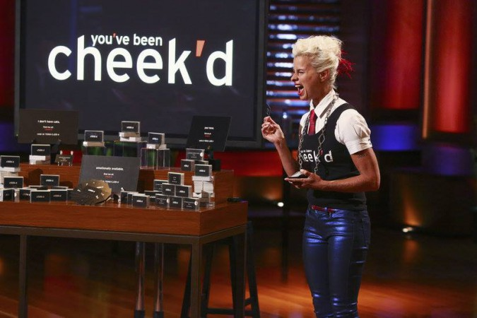 You've been cheekd with Lori Cheek at Shark Tank