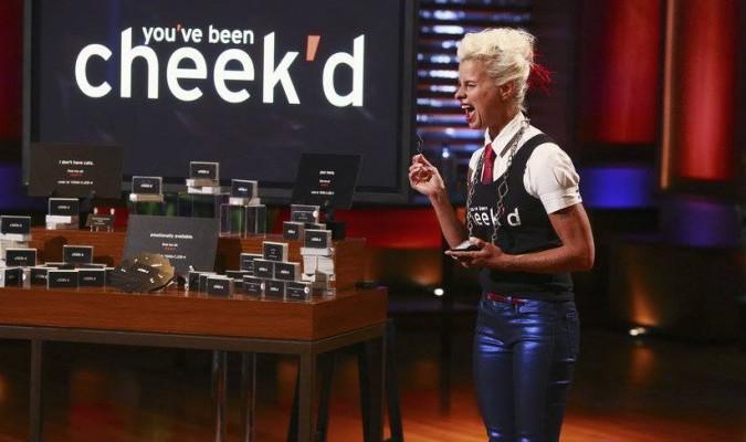 You've been cheekd with Lori Cheek at Shark Tank